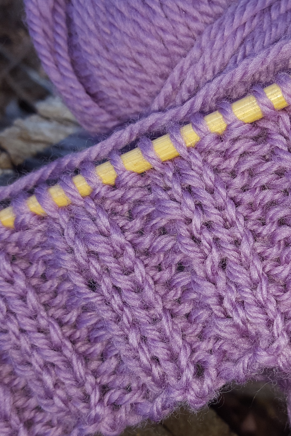 2x2 Ribbing Knitting Stitch Pattern