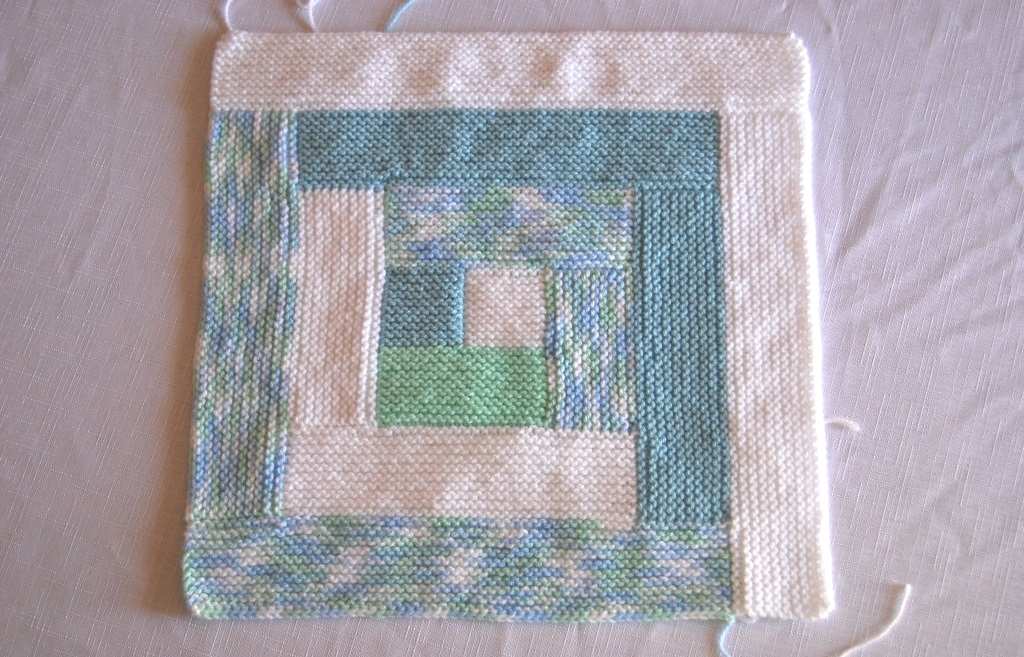 Hand Knit Blanket Baby