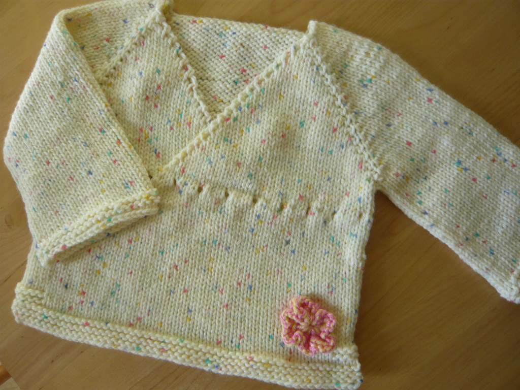 Knitting Baby Sweaters