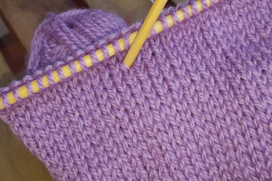 Stocking Stitch Knitting Stitch Pattern