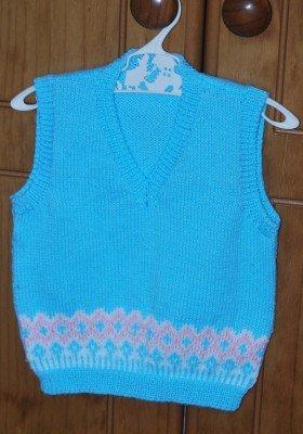 Vee Neck Vest for Children aged 2 - 6 years