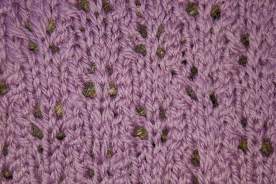 Zig Zag Lace Knitting Stitch Pattern